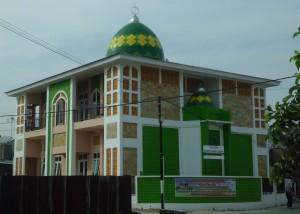 kubah masjid, kubah enamel