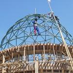 Foto Pemasangan Atap Kubah