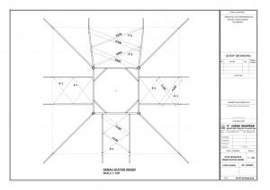 Konstruksi,baja,wf,atap,struktur,kubah,masjid,HTB,Las,plat