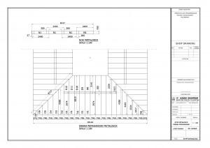 Pemasangan Decking on Denah Pemasangan Penutup Atap Metaldeck Dan Nok