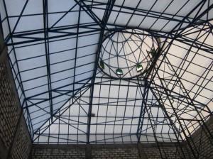 atap limas,kubah masjid,kerucut,kedap air