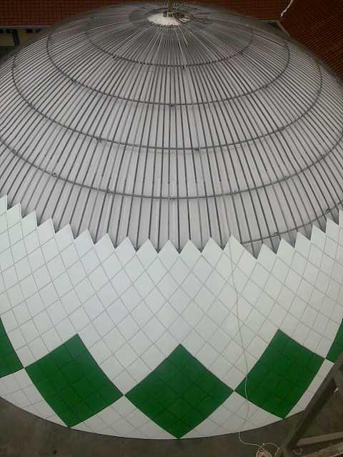 Kubah Masjid Institute Agama Islam Negeri – IAIN Mataram NTB