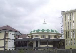 kubah, masjid, IAIN, Mataram, Lombok, NTB