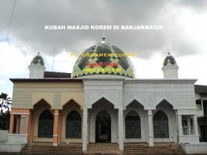 Kubah Masjid Banjarmasin Korem