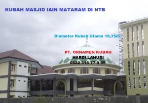 Kubah Masjid IAIN Mataram