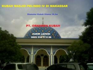 Kubah masjid Makasar Pelindo